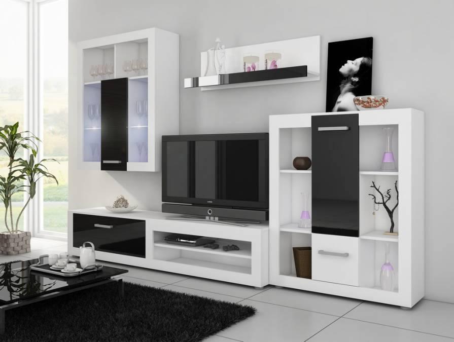 Inšpirácia - Obývacie steny - Obrázok č. 9