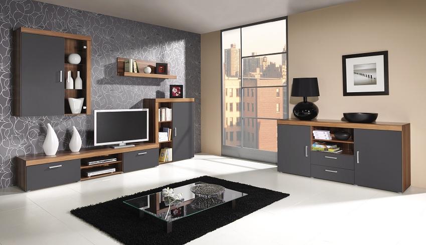 Inšpirácia - Obývacie steny - Obrázok č. 22