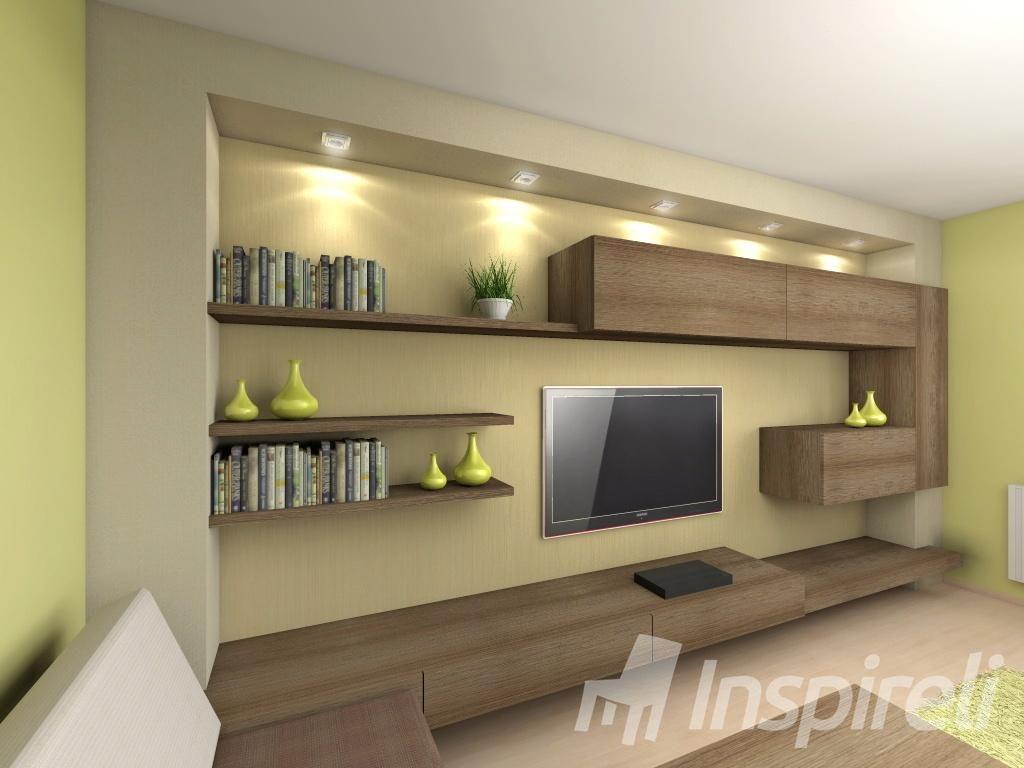 Inšpirácia - Obývacie steny - Obrázok č. 25