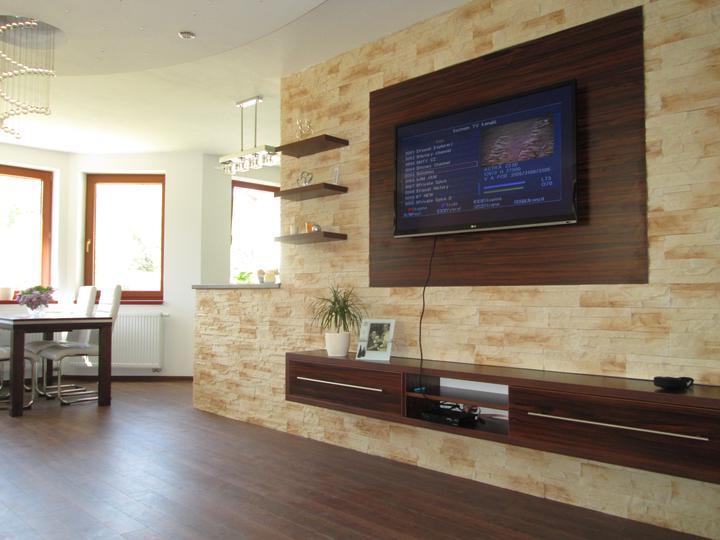 Inšpirácia - Obývacie steny - Obrázok č. 33