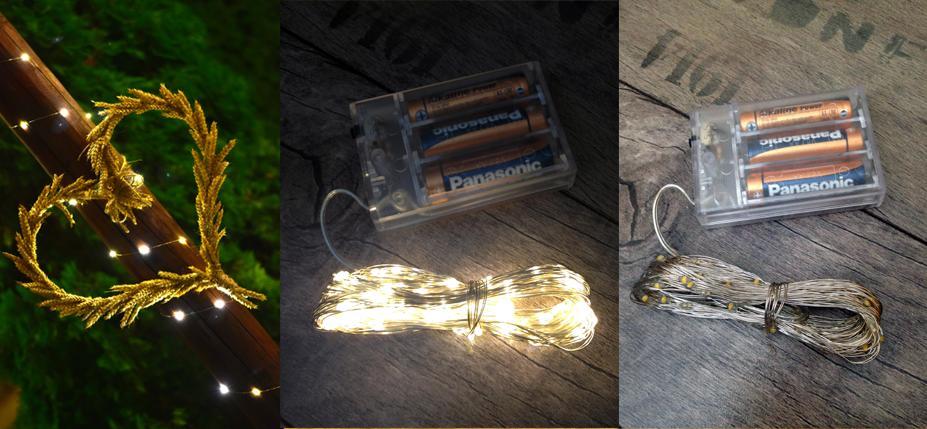 Světelné LED řetězy 10 m  - Obrázek č. 1