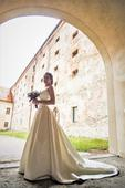 Svadobné šaty Aire Barcelona - Cira, ivory, 38