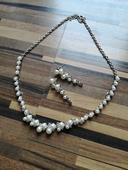 Sada šperků náhrdelník a náušnice,