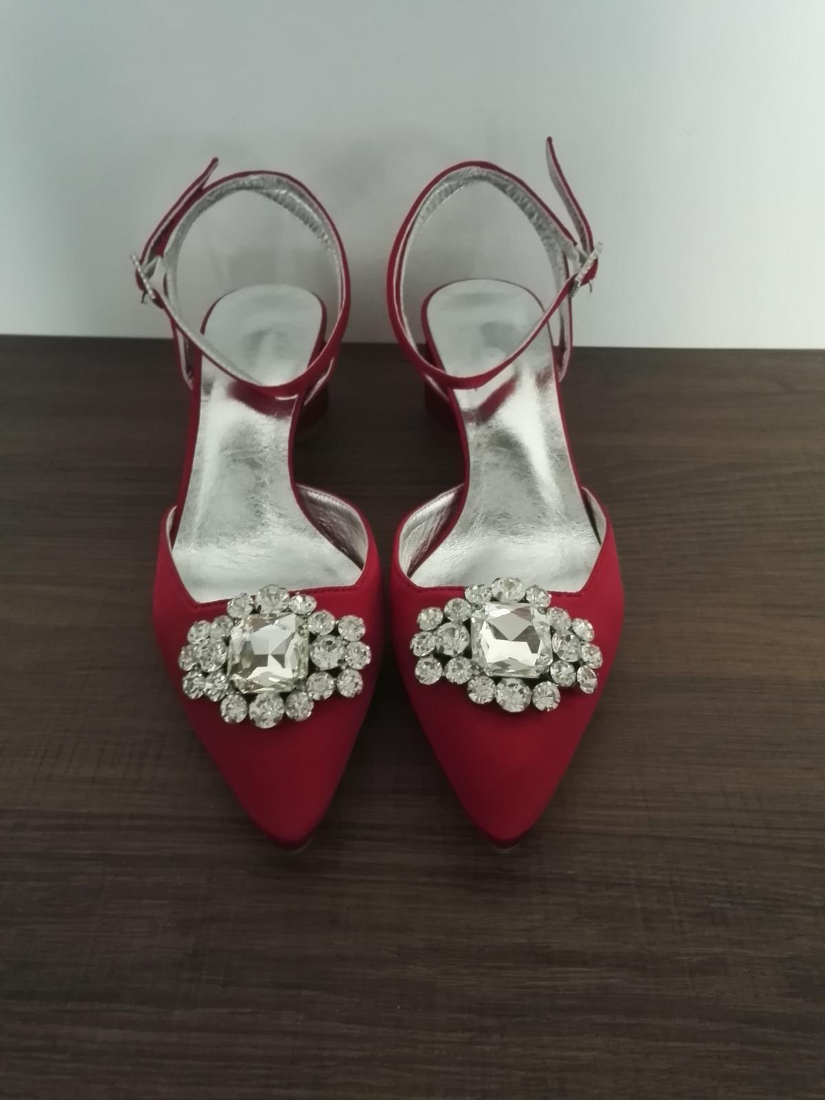 Červené topánky - Obrázok č. 1