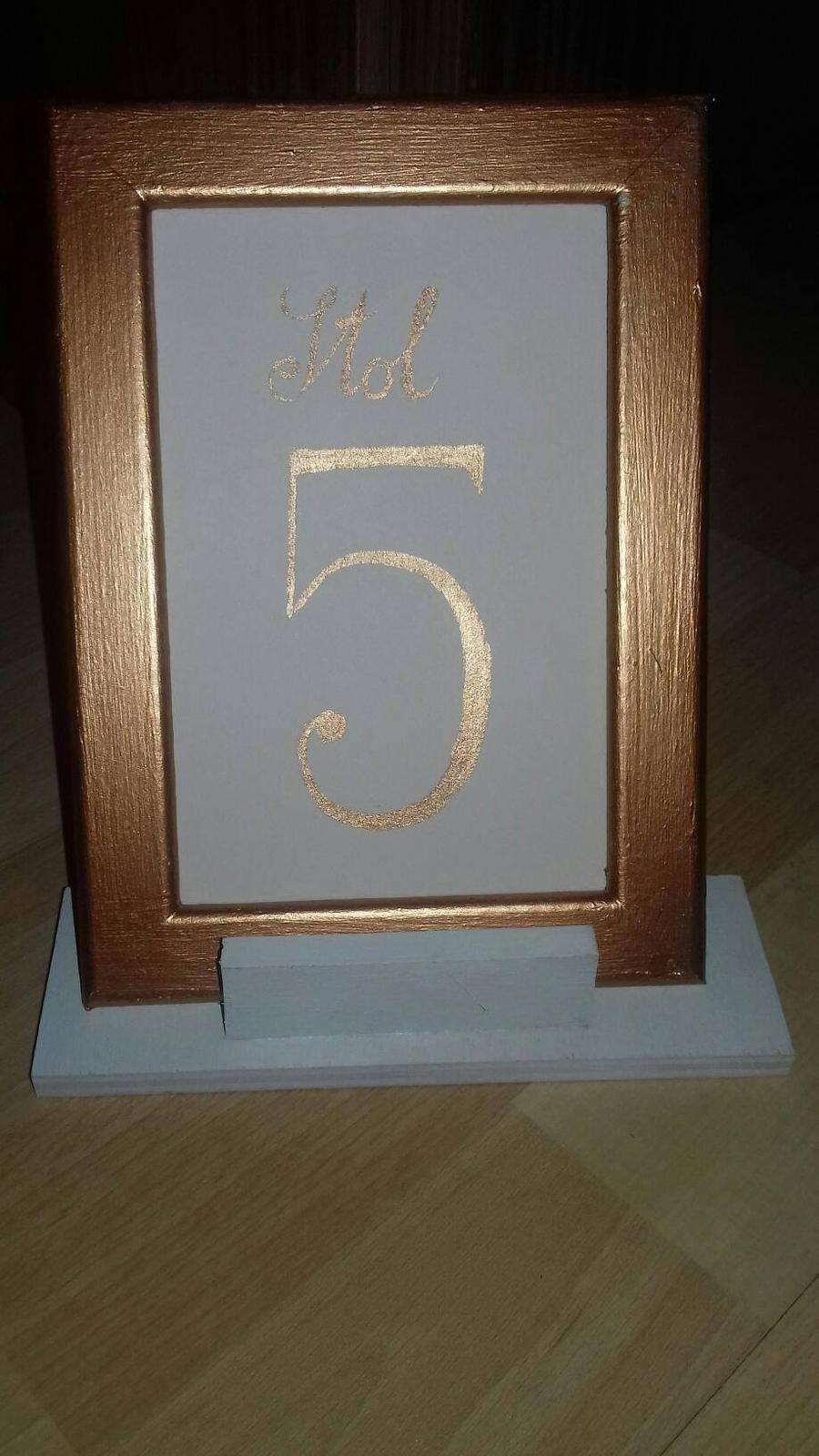 označenie stolov - Obrázok č. 2