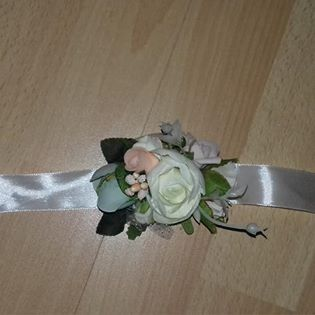 náramok pre družičky-zostatok zo svadby - Obrázok č. 1