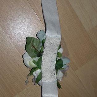 náramok pre družičky-zostatok zo svadby - Obrázok č. 2
