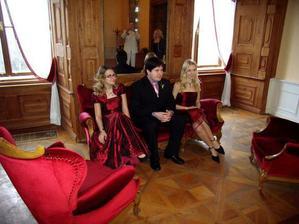 naše tři krásné děti Nika, Renda, Monča