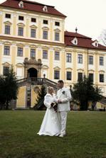 náš svatební zámek Červený Hrádek