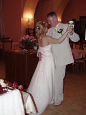 náš první svatební taneček