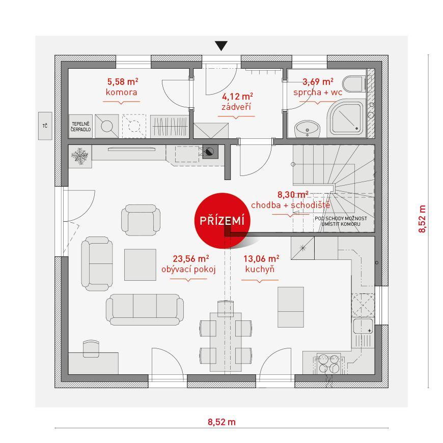 Typový dům Proteus - Obrázek č. 3