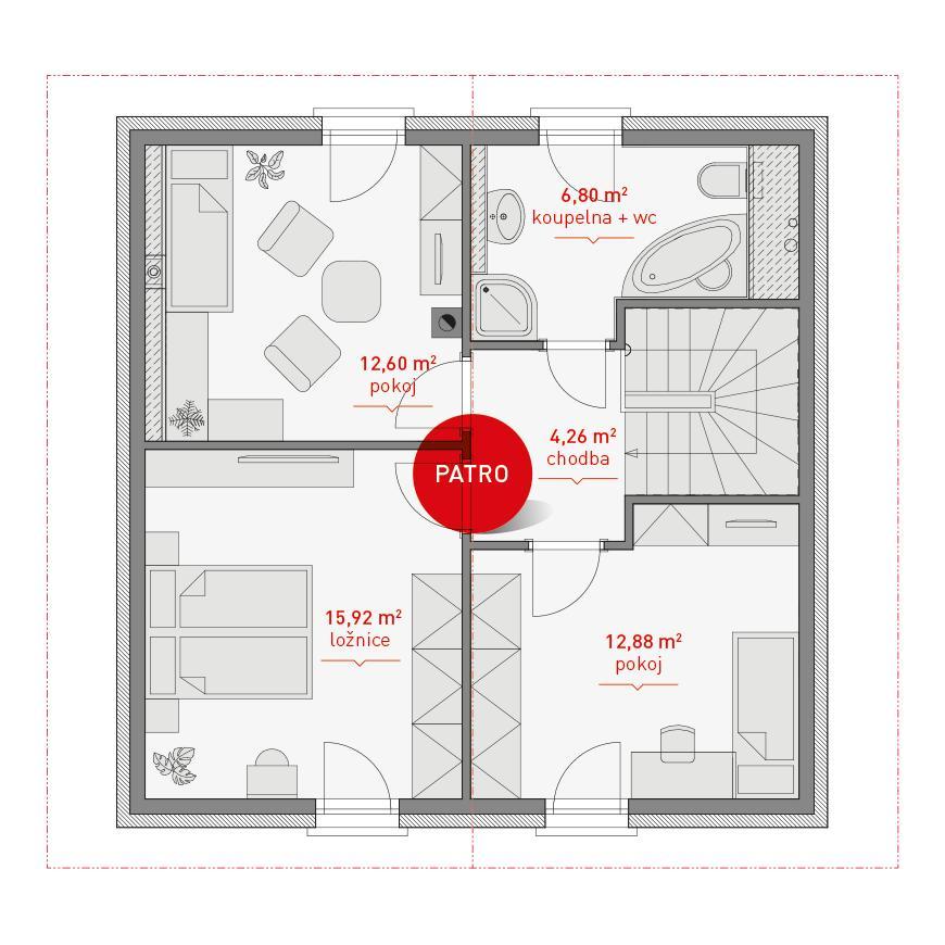 Typový dům Proteus - Obrázek č. 4