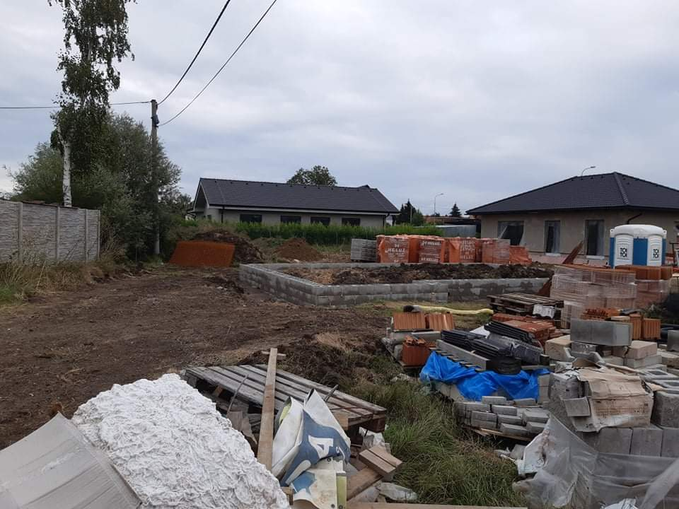 Stěhování na venkov - stavba