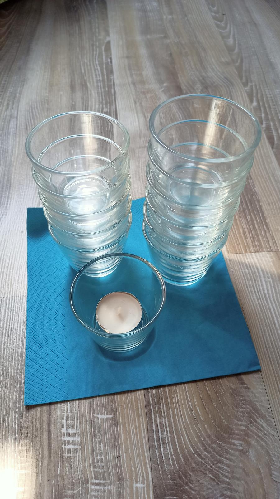 Svícen na čajové svíčky - Obrázek č. 1