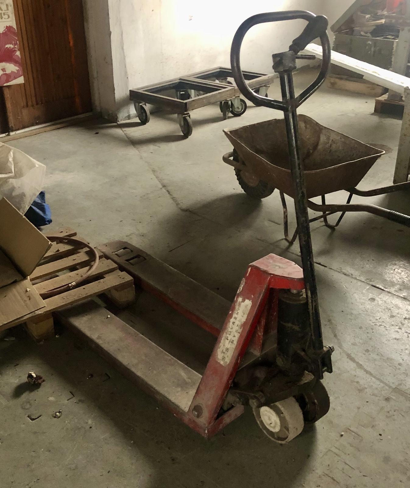 Ručný paletový vozík - Obrázok č. 1